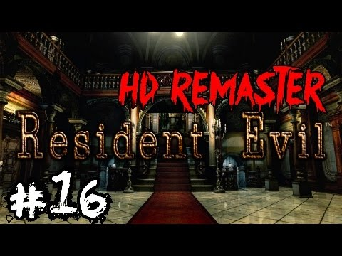 RESIDENT EVIL / biohazard HD REMASTER Campaign Walkthrough Ep.16▐ Attack of the SHARKS!