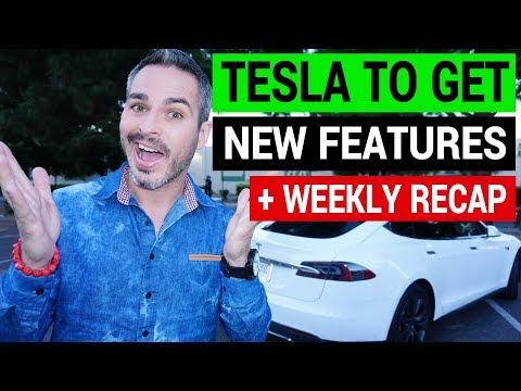Elon Musk Teases New Tesla Features