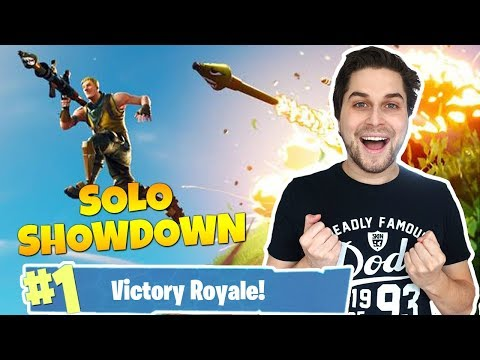 *NEW* GAMEMODE SOLO SHOWDOWN WIN! - Fortnite Battle Royale