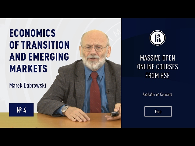 Economics of Transition and Emerging Markets: Collapse of the CPE #4