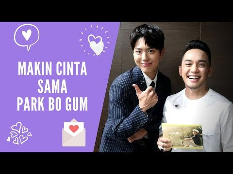 MC Fan Meeting PARK BO GUM in Jakarta 2019, HE IS THE BEST !! | Ichsan Akbar
