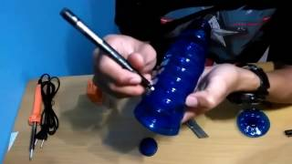 Tutorial membuat lampu Tidur dari botol bekas