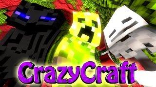 "Minecraft | Crazy Craft 2.0 - OreSpawn Modded Survival Ep 165 - ""T-REX ZOO & MOTHRA"""