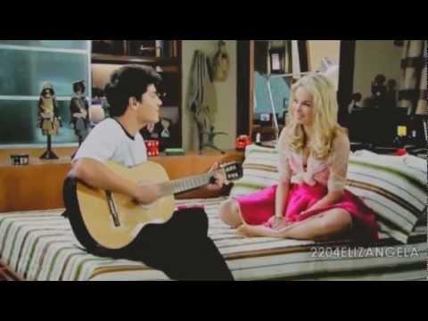 Diego e Roberta - REBELDE brasil - BANDIDA (nova musica tema) HD