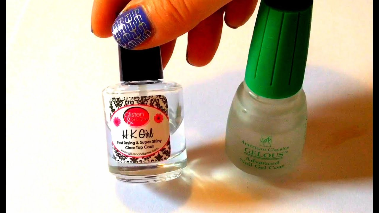 BEST base coat and Top coat - Product review - YouTube
