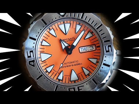 "Unleashing the ""Orange Monster""! - Seiko SRP309 Unboxing - Perth WAtch Suppl #7"