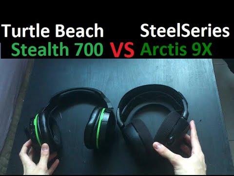 SteelSeries Arctis 9X VS Turtle Beach Stealth 700 (Review & Comparison)