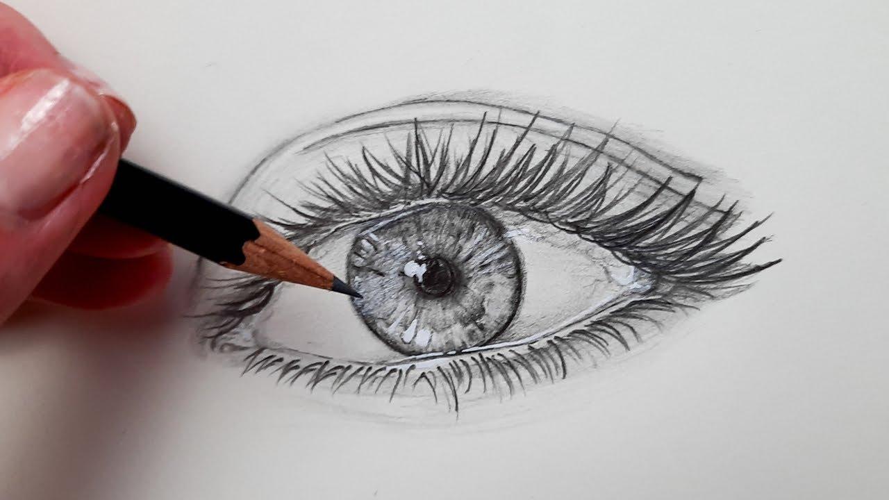 Wimpern zeichnen - Schritt für Schritt (Für Anfänger ...