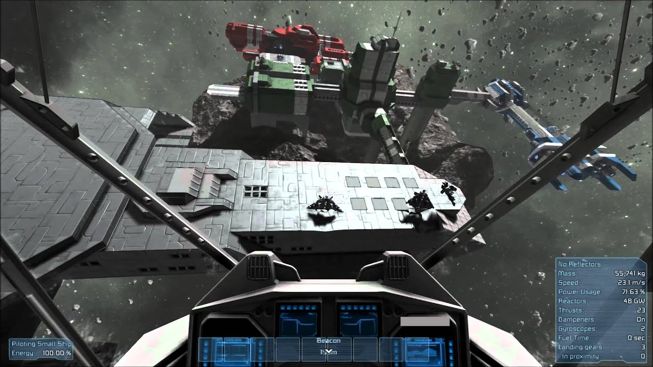 Space Engineers Stargate Sg1 Daedalus Assaulted By Clones
