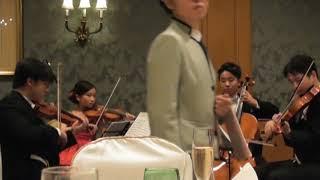 結婚式の迎賓から送賓までの全曲を演奏 (歓談中) ~『アイネ・クライ...