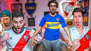 Reacciones de Amigos | River vs Liga de Quito | Copa Libertadores 2020