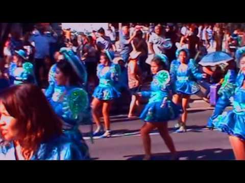 Trip To BRAZIL - Bolivia Cultural Parade On Av. Paulista | São Paulo 2016 Brazil Vacation 😍💝💗