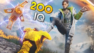 *200 IQ* STRAT TO COUNTER CRYPTO!! | Best Apex Legends Funny Moments and Gameplay - Ep. 232