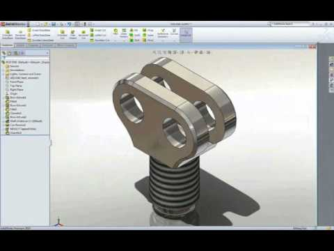 Introducci n al dise o 3d con solidworks youtube for Diseno de muebles 3d