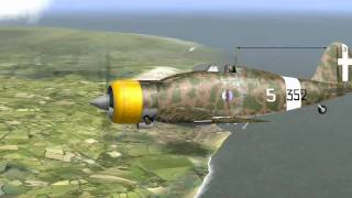 Air Battle (13)online G.50 vs Spitfire