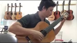 [Guitar] Recuerdos de la Alhambra - Tarrega. Lê Hùng Phong thể hiện.