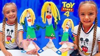 Como se Hace la Novia de Forky Toy Story 4 Las Ratitas
