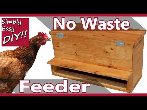 Zero Waste Chicken Feeder