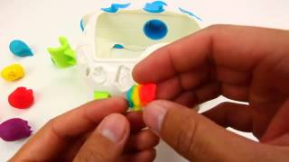 Play Doh Rainbow Gummy Bears   YouTube Thumbnail