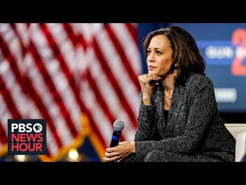 Kamala Harris defends her health care plan from rival critics thumbnail