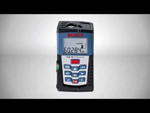 Bosch Entfernungsmesser Dle 150 : Bosch laser entfernungsmesser dle connect youtube