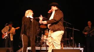 William MacLeod and Carroll Baker on the stage, Tuesday, November 1st, 2016