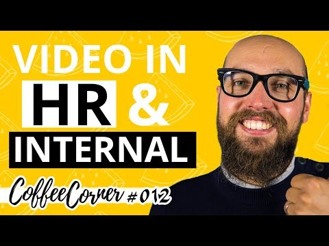 COOL Companies Using VIDEO in Their HR strategy   Coffee Corner 012   Video Marketing Insights