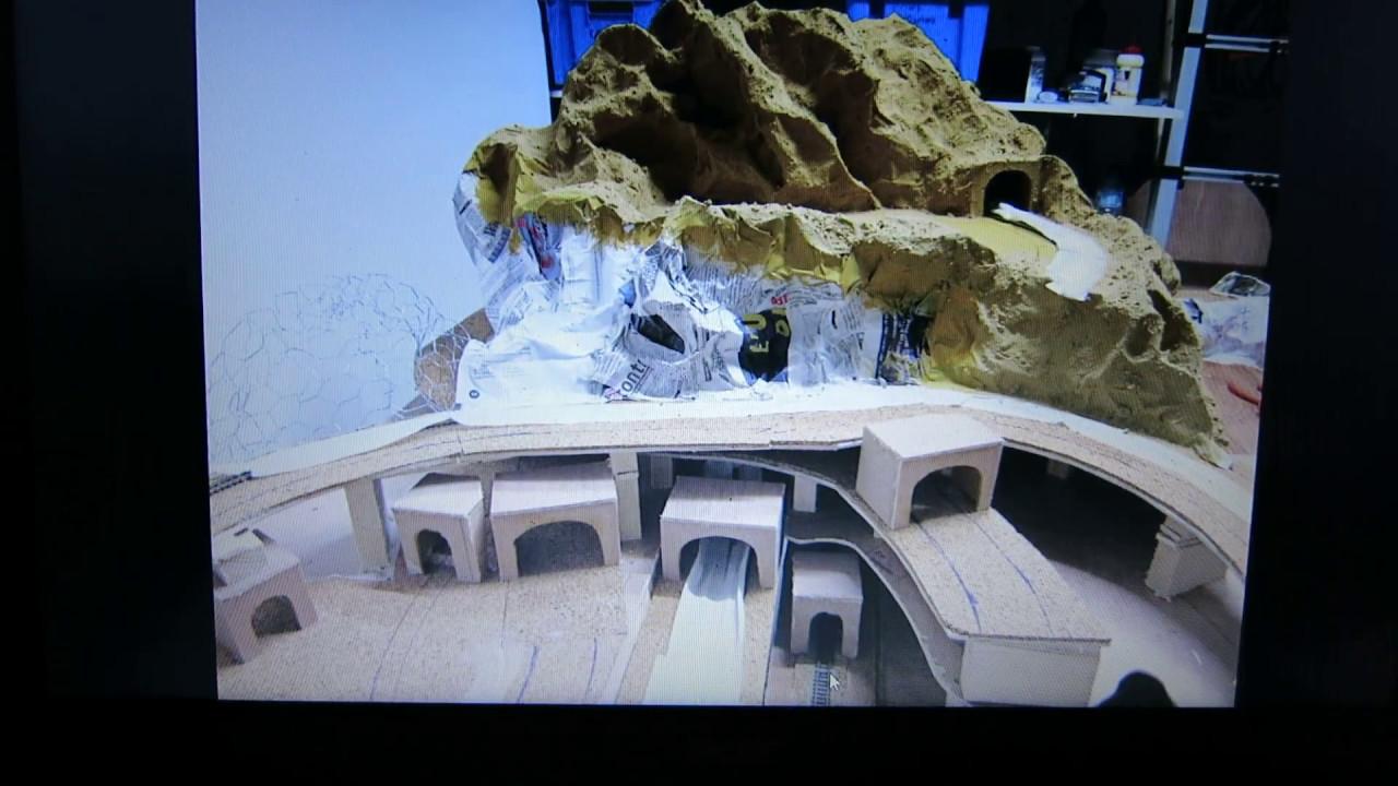 construction reseau modelisme ferroviaire chelle n suite et fin youtube. Black Bedroom Furniture Sets. Home Design Ideas