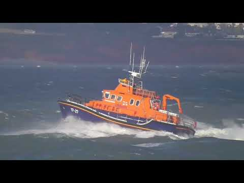 Torbay Lifeboat Training In A Rough Sea 07/01/2018. Part 2 of 2.