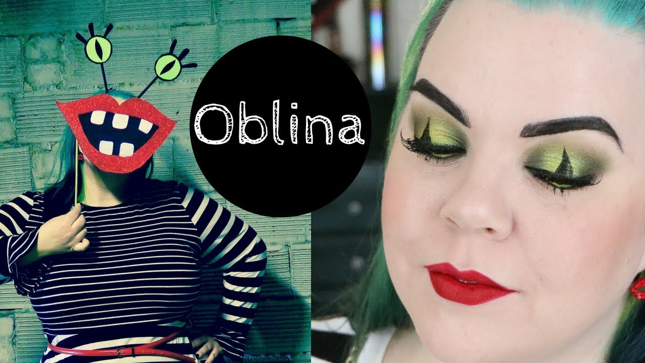 Oblina Diy Costume Makeup Tutorial Youtube