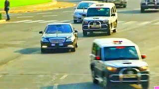President of India Car Convoy - Ram Nath Kovind *Mercedes Benz*