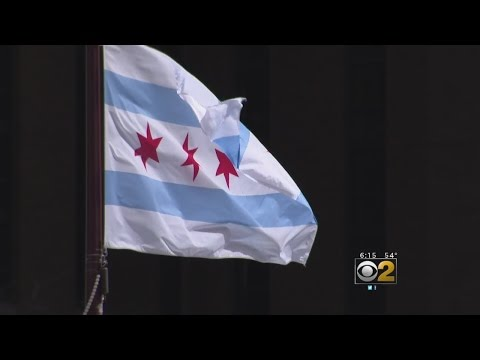 History Behind The Chicago Flag As Turns It Turns 100