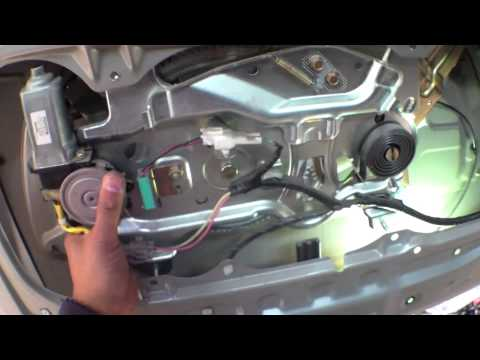 2004 Toyota Tundra Wiring Diagram Easy Follow Rear Door Latch Handle Replacement Toyota