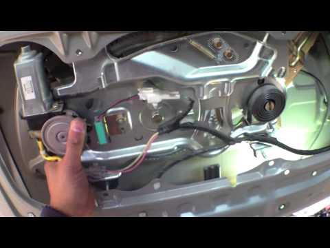 EASY FOLLOW Rear DOOR latch handle Replacement Toyota