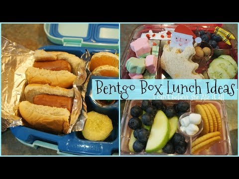 BENTGO BOX LUNCH IDEAS | GIVEAWAY WINNER | VLOGMAS #16