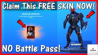 CLAIM This FREE SKIN In Fortnite RIGHT NOW! (How To Get A FREE Skin NO Battle Pass Season 10)