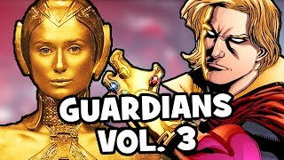 GUARDIANS OF THE GALAXY VOL. 3 & Avengers 4 PREDICTIONS - Adam Warlock & Credits Scene Explained