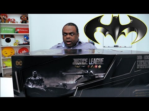 WOW! The ULTIMATE BATMOBILE Unboxing!