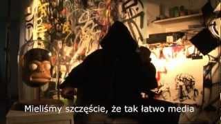 Banksy vs Stocznia Gdańska (imienia Lenina - napis Solidarność)