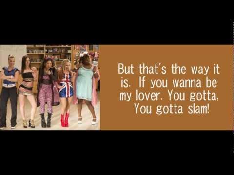 Wannabe - Glee [Lyrics]