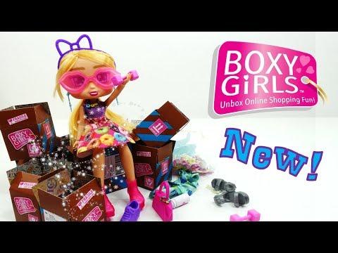New HAZEL BOXY GIRLS Doll and Fashion Pack Series 2