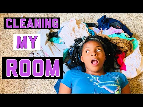CLEANING My ROOM!!! + Bathroom (CHORES)