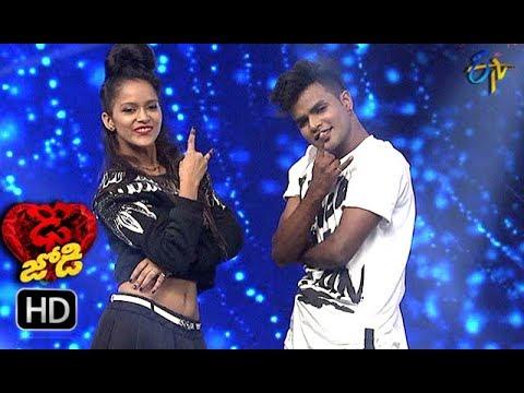 PrabhuDeva and Sonia Performance | Dhee Jodi |  19th September 2018 | ETV Telugu