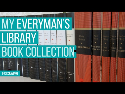 My Everyman's Library book collection - BookCravings