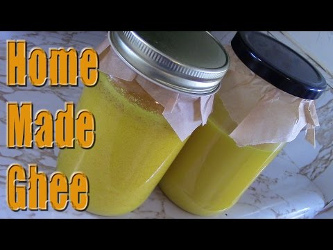 Making Ghee From Cultured Butter
