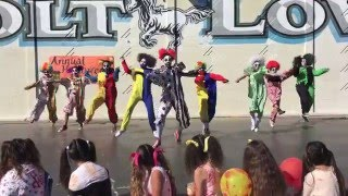 Carson Songs Dance Team 2014-2015 | Halloween pep rally