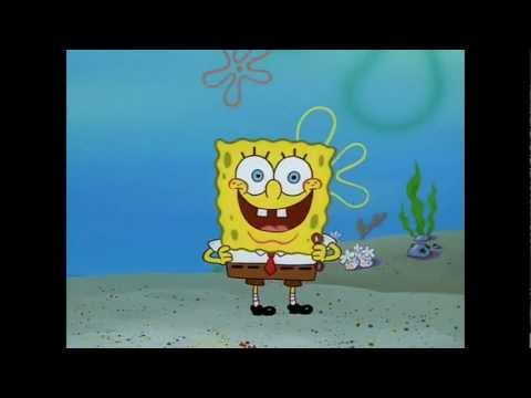 How to blow a bubble - Spongebob-HD