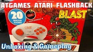 AtGames Atari Flashback BLAST, Unboxing, Gameplay & Review - Emceemur