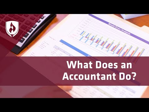 What Does An Accountant Do? [Career Overview]
