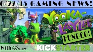 (A late) Congratulations to Playtonic on their Yooka-Laylee Kickstarter! | Gaming News!